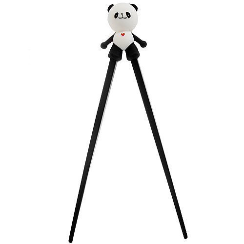 A-goo Color big belly panda silicone children Korean cartoon chopsticks learning training chopsticks