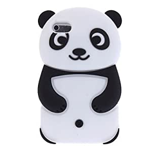 3D Panda Designed Silica Gel Soft Case for iPod touch 4