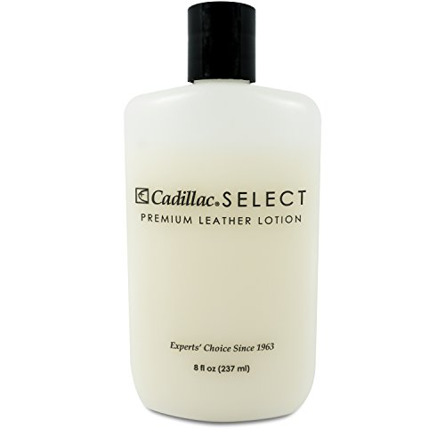- Cadillac Select Leather Lotion Cleaner and Conditioner- for Handbags, Sofas, Jackets, Furniture, Purses, and More