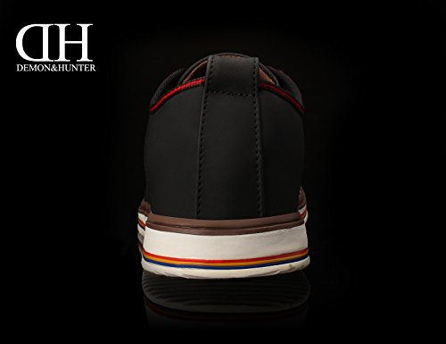 free shipping visit new affordable cheap online Demon&Hunter Men's Fashion Black Sneaker S4L2605B Black genuine cheap online eQHtPcg