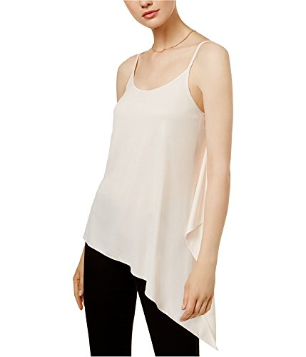 Bar III Womens Modal Asymmetric Tank Top Pink L from Bar III