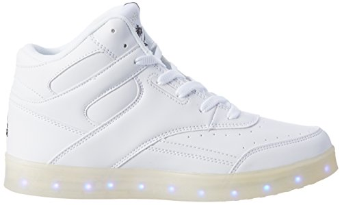 Alte L Flo Sneaker Donna Gear Ii a Bianco blk Lights 1 white AwfROYfq