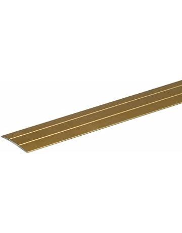 GAH-Alberts - Perfil de unión adhesivo para suelo (aluminio, 900 x 38