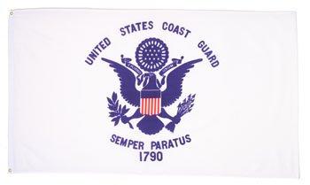 Rothco United States Coast Guard Flag, 3' x 5'