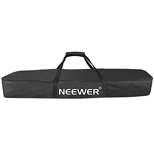 Neewer Durable Speaker Stand Case Bag with Dual Compartment, Two Quick-grab Handle Straps, 43 inches/ 110 centimeters, Black (NW-009) by Neewer