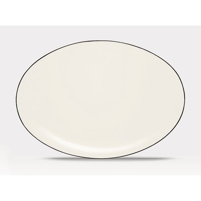 - Noritake 16-Inch Colorwave Oval Platter, Graphite