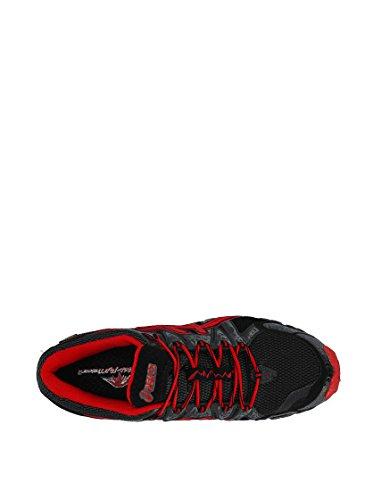 Asics Performance Gel-fujitrainer 2 G-tx - Zapatillas Hombre Negro / Gris / Rojo