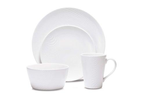 Noritake WoW Dune 4-Piece Place Setting (Noritake Porcelain Mug)