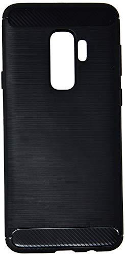 Capa Carbon Fiber para Galaxy S9 Plus, iWill, DIS908TR PLUS, Preta
