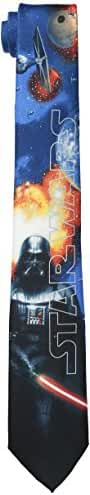 Star Wars Men's Darth Vader Poster Tie