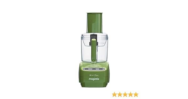 Magimix Mini Plus 400W 1.7L Verde - Robot de cocina (1,7 L, Verde, Botones, Acero inoxidable, 400 W, 155 mm): Amazon.es: Hogar
