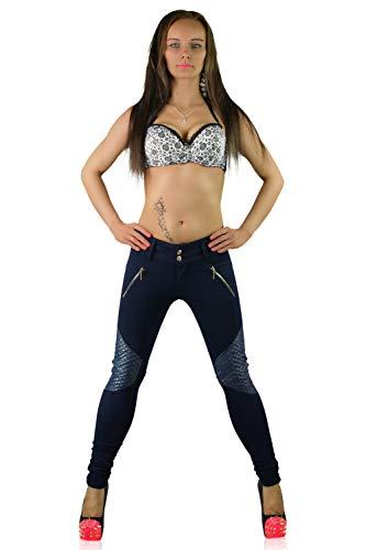 Donna Navy Skinny S Blue Pantaloni J IzqnRFxtBw
