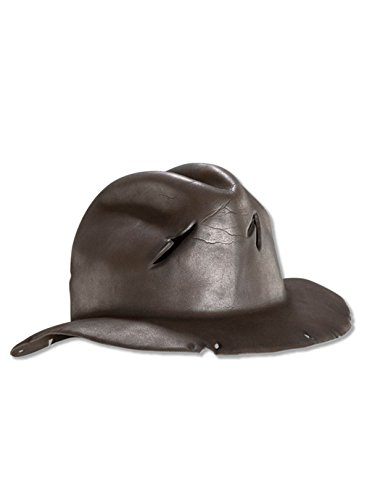 Rubie's Costume Co A Nightmare On Elm Street Freddy Krueger Hat (One Size/Brown) ()