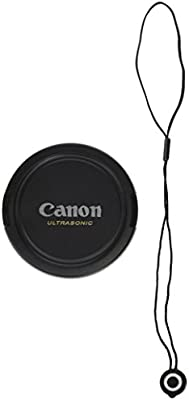 yellow Lens Cap 72mm for Canon