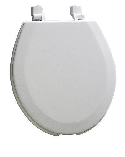 Round Open Front Toilet Seat - 5