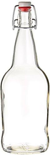 32 Clear Cap Kombucha Bottle