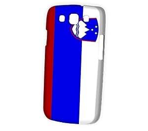 Case Fun Samsung Galaxy S3 (I9300) Case - Vogue Version - 3D Full Wrap - Flag of Slovenia