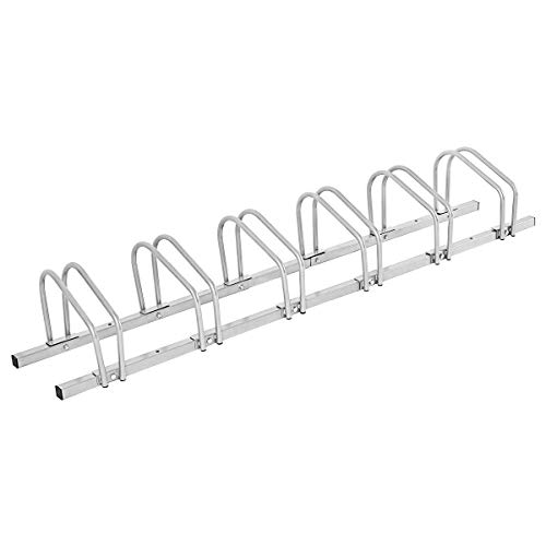 6 Bike Rack Bicycle Stand Garage Parking Storage Organizer Cycling Rack