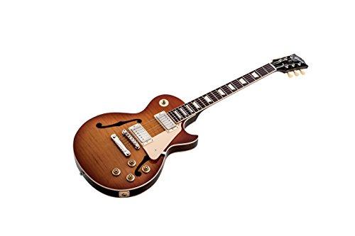 Gibson Memphis ES-Les Paul Semi-Hollow-Body Electric Guitar, Historic Burst
