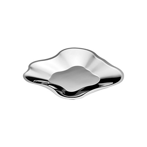 Iitala Aalvar Aalto Bowl (Large), Stainless Steel