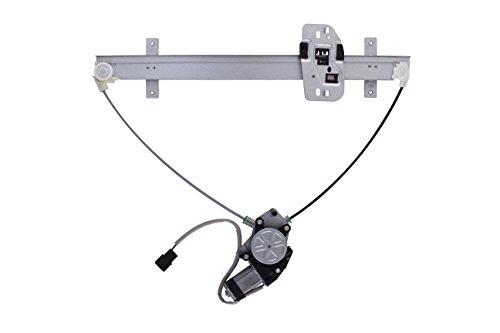 HANSUN 8836-1132 Power Window Regulator With Motor Rear Left Driver Side For Honda Ridgeline Crew Cab Pickup
