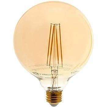Vintage Globe Led Filament Bulb Edison Style Dimmable