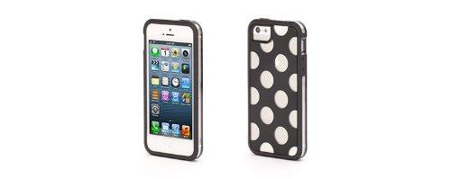 Griffin GB38058 Etui pour iPhone 5 Noir/Transparent