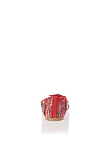 Jonny´s Vegan, Ballerine donna rosso Rot 39