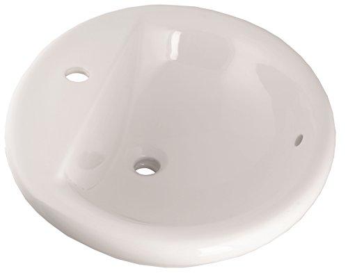 - CORNAT EWTLUBD5700 57cm Luso Built-In Wash Basin - White