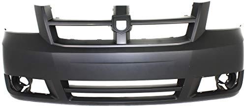 Garage-Pro Bumper Cover for DODGE GRAND CARAVAN 08-10 FRONT Primed - CAPA