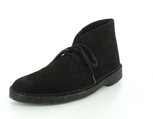 Desert Men's Originals New Black Boot Suede Clarks 0xqE8wvwp