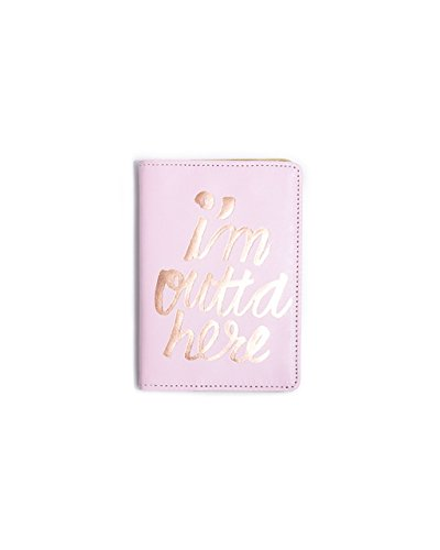 ban.do Design The Getaway Passport Holder - I'm Outta Here (55224) (Passport Cover For Women)