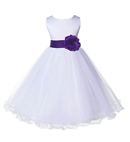 Wedding Pageant White Flower Rattail product image