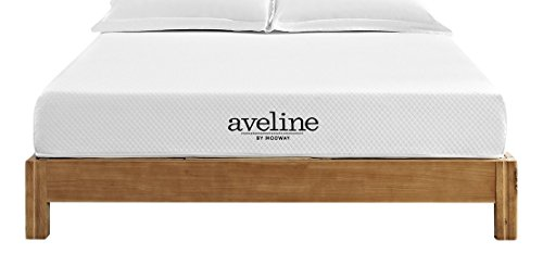 Modway Aveline 8 Gel Infused Memory Foam Full Mattress With CertiPUR-US Certified Foam - 10-Year Warranty - Available In Multiple Sizes
