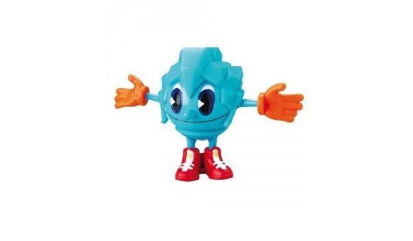 BANDAI - Pacman Figuras Giratorias - Azul [Juguete]: Amazon.es ...