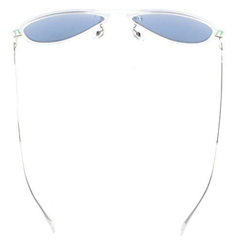 Eyekepper Flash Green Mirror Polarized Sunglasses Titanium Temple TR-90 Frame by Eyekepper (Image #4)