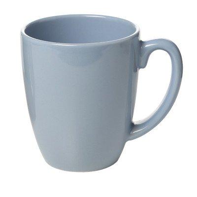 Light Blue Dinnerware - Livingware 11 oz. Mug [Set of 6] Color: Light blue