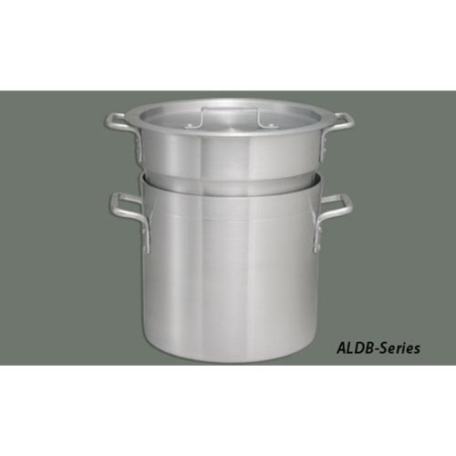 Winco ALDB-20 Aluminum Double Boiler Set, 20-Quart