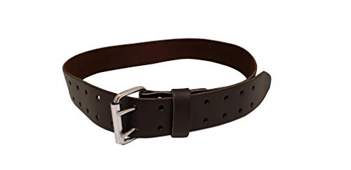 - LAUTUS 2-Inch Work Belt in Heavy Top/Full Grain Leather, 28-Inch to 46-Inch - 100% Leather