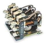 Dayton 1EJJ9 Relay, Power, 4PDT, 24VDC, Coil Volts