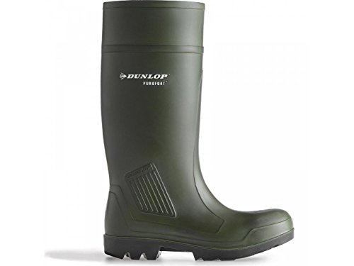 Stivali Verde Dunlop Adulto Gomma Unisex Di verde TxpBH