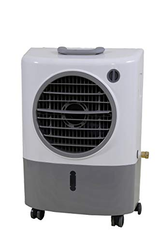Hessaire Products MC18M Mobile Evaporative Cooler, 1,300 Cfm Gray