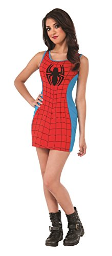Super Hero Tank Dress (Medium, (Adult Faery Dress)