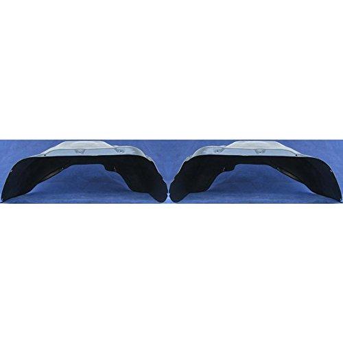 Splash Shield Front Left or Right Side Fender Liner Set of 2 Plastic for DODGE FULL SIZE P/U 94-02 Plastic 2WD
