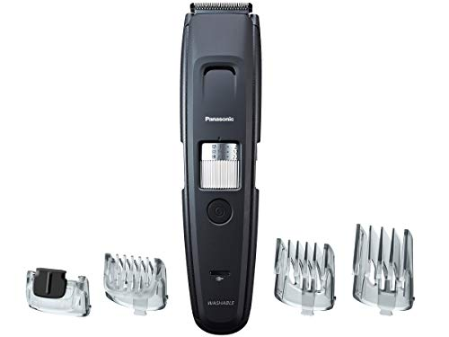 Panasonic Beard Trimmer & Hair Clipper for Men, 4 Precision Barber Clippers Attachments, 58 Detailing Length Adjustable Dial, Cordless- ER-GB96-K