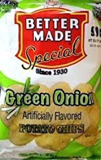 product image for Better Made green onion flavored potato chips, 10.5-oz. bag