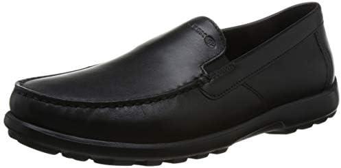 Geox Herren Nappa Leather Loafer Romaryc 7 Halbschuhe aus Nappaleder