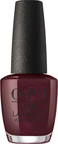 OPI Nail Lacquer, Black To Reality