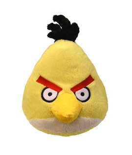 4 inch Angry Birds Plush Toy, Yellow Bird