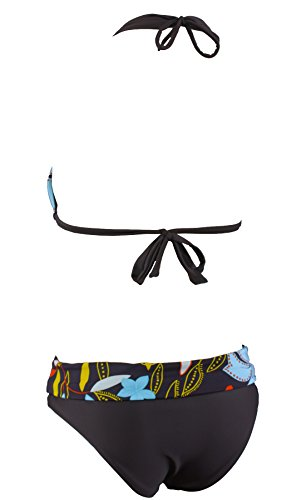 Look Kit Mehrfarbig Plage Aloha Maillot A1501 Bain De nbsp;multicolore Rétro Triangle rH5qwHx